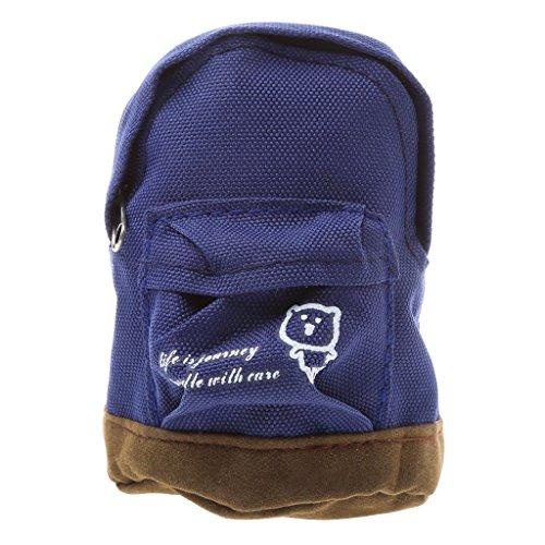 SimpleLife Portable Mini Rucksack Stil Schlüsselanhänger Geldbörse Brieftasche Reißverschlusstasche Hand Pouch Brieftasche (zufällige Farbe)