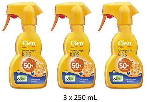 Cien Sun Sonnenspray für Kinder LSF 50 (3 x 250 mL)
