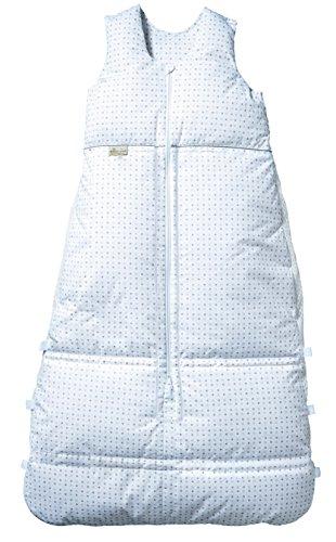 Climarelle Daunenschlafsack, längenverstellbar, Alterskl. ca 12-24 Monate, Sternenhimmel, 110cm