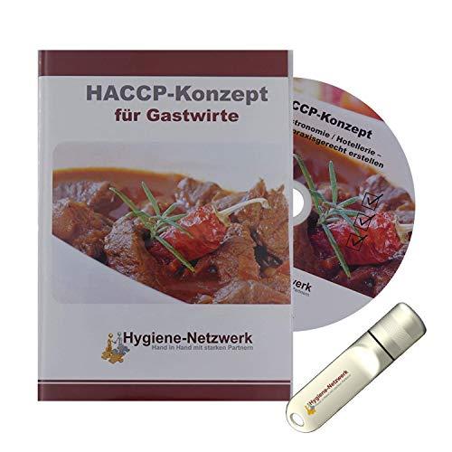 Hygiene Netzwerk HACCP-Konzept für Gastwirte   Checklisten & Arbeitsanweisungen   Hotel Gastronomie  Hygieneschulung   Infektionsschutzgesetz Schulung   Power-Point-Präsentation auf CD oder USB-Stick