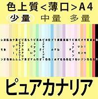 色上質(少量)A4<薄口>[ピュアカナリア](100枚)