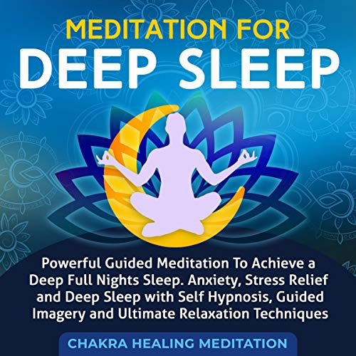 Meditation for Rapid Deep Sleep Audiobook By Emmanuel Young cover art
