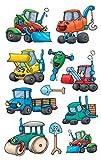 Avery Zweckform 53144Autocollants pour enfants Machines de chantier...