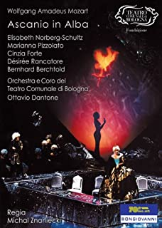 Wolfgang Amadeus Mozart: Ascanio in Alba / Norberg-Schultz / Pizzolato / Forte / Rancatore / Berchtold / Dantone