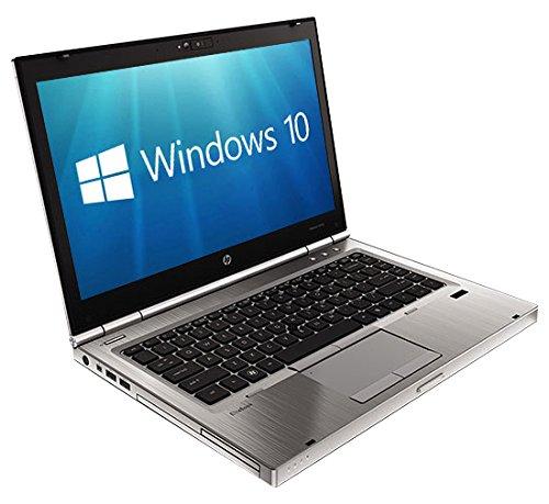 HP EliteBook 8470P 14-Inch Notebook ( Silver) - (Intel i5-3320M, 8GB RAM, 256GB SDD, Windows 10 Pro) (Renewed)