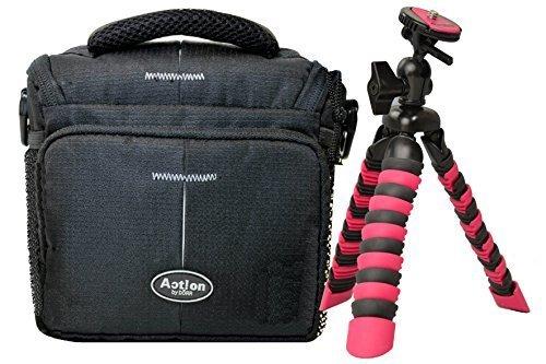 Bolsa Funda Action One máquina fotográfica Bag Plus trípode Rollei 100para Nikon Coolpix L340L330L840L840P610