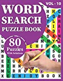 Word Search Puzzle Book: Make Your Holiday Funny With 80 Large Print Awesome Adults And Seniors Word Search Brain Games Logic Puzzles Including Solutions
