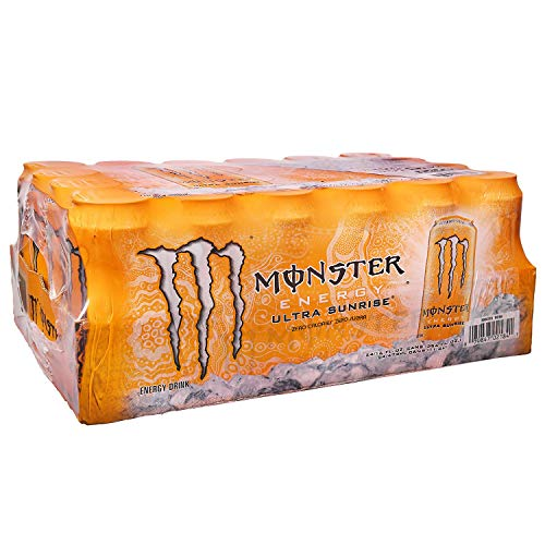 Monster Ultra Sunrise (16 oz. cans, 24 ct.) - (Original from manufacturer - Bulk Discount available)