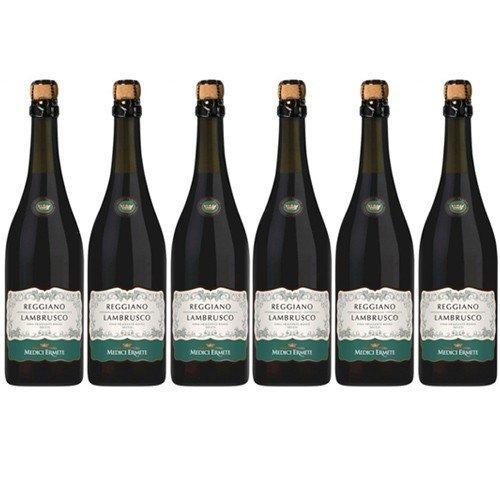 6x Medici Ermete Lambrusco Reggiano Secco \'trocken\', 750 ml