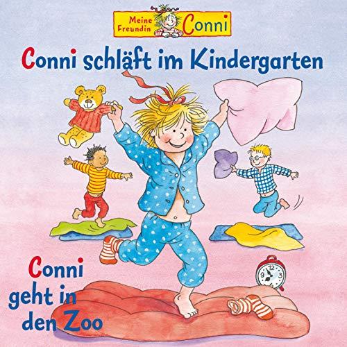 Conni schläft im Kindergarten / Conni geht in den Zoo Titelbild