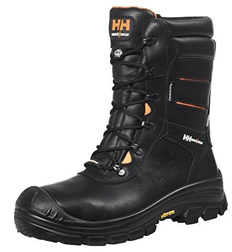 Helly Hansen Workwear Sicherheitsstiefel S3 WR CI HRO SRC HellyHansen 78302 Oslo Winterboot OD WW warme Arbeitsschuhe, 40, schwarz, 78302
