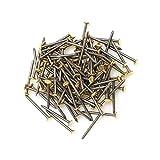 Design61 - Chiodi in acciaio, 2,0 x 30 mm, 100 pezzi