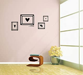 Wangjru Diy Family Love Photo Frame Wall Sticker Home Decor Living Room Bedroom Wall Decals Poster Home Decoration Wallpaper