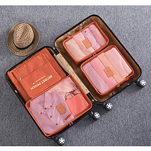 Uhjg Convenient Travel Storage Bag Storage Bag Set Clothes Storage Bag Travel Bag Luggage Household Large Capacity Storage Bag,8