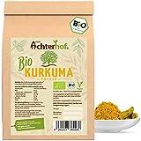 Bio Kurkuma Pulver 1Kg Kurkumawurzel gemahlen als Gewürz für Paste oder Curcuma Latte natürlich vom-Achterhof…