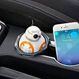 Great Collectibles STAR WARS AWAKENS DROID BB8 USB CAR CELL PHONE TABLET CHARGER LIGHTS SOUND NEW