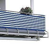 HMGDFUE Telo Frangivista Balcone, 2.95ft x 16.40ft Frangivista da Balcone Copri Ringhiera Balcone Recinzione Copertura per Balcone Protezione della Privacy Schermo 90 * 500cm