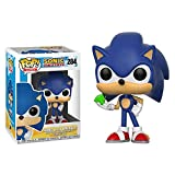 Funko Pop!- Sonic with Emerald Figura Coleccionable de Vinilo, Multicolor (20147)