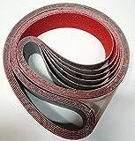 Nastri abrasivi Ceramici mm 1800x50 - art. NX93Y - grana 120 - confezione da 6 nastri...