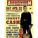 Wee Blue Coo LTD Music Concert Advert Johnny Cash Carter