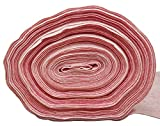 Feinstaubfilter ca. 1x2m ca. 4-6mm 300g synthetisches Filtermedium - in dichter Ausführung als Pollenfilter Filtermatte Filterklasse F7 Farbe rosa