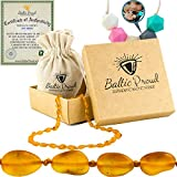 Best Baltic Amber Teething Necklaces - Baltic Amber Teething Necklace For Babies Gift Set Review
