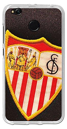 BeCool tpu-xi035-sfc09 – Housse Gel Souple Sevilla FC pour Xiaomi Redmi 4 x Motif Bouclier 5, Multicolore