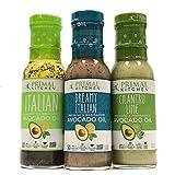 Primal Kitchen Dressing & Marinade, Made w/ Avocado Oil (Dreamy Italian, Italian...