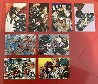 僕のヒーローアカデミア 飾れるポストカード8枚セット