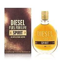 ディーゼル Fuel For Life Spirit Eau De Toilette Spray 50ml [海外直送品]