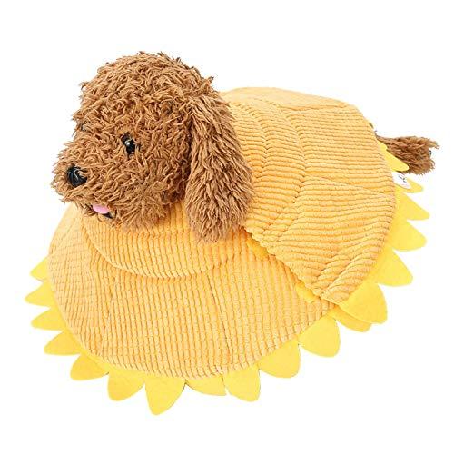 Tomantery Collar Protector para Mascotas, Material de Felpa Suave y liviano para agarrar y lamer para Perros, Gatos, Cachorros(M)