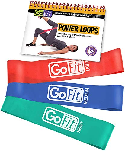 GoFit Power Loop Resistance Bands - Training Pack