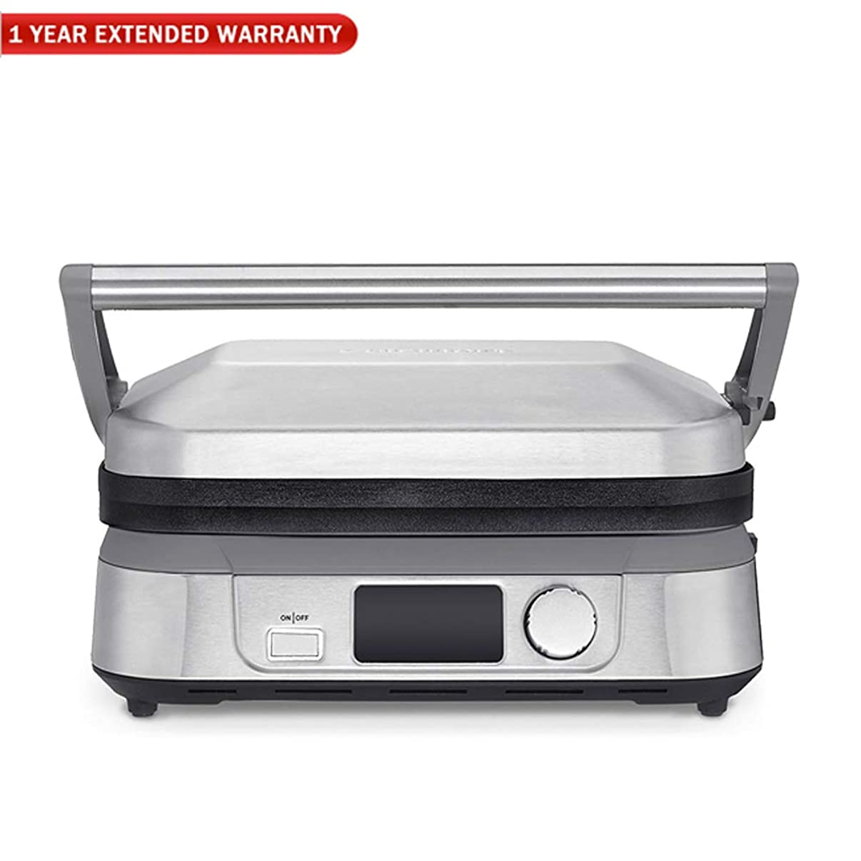 Cuisinart GR-5B Series Griddler Five with 1 Year Extended Warranty