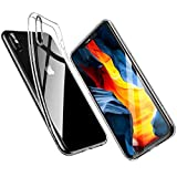 Angelcare iPhone X Hülle, iPhone XS Hülle, Kompatibel mit 5.8'' iPhone X/Xs, Crystal Clear TPU...