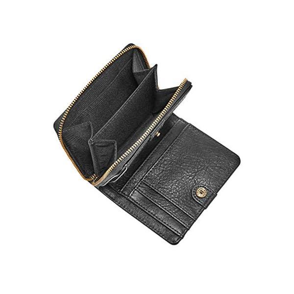 Fossil Women's Logan Leather RFID-Blocking Mini Multifunction Bifold Wallet 2