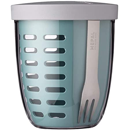 PP Lunch Container, Adulto, Cal, Polipropileno PP , Mon/ótono, Alrededor - Fiambreras Rosti Mepal Ellipse Lunch Container Cal Polipropileno s 0,7 L 1 Pieza