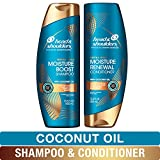 Head and Shoulders Shampoo and Conditioner, Moisture Renewal,...