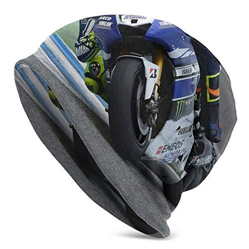 Valentino Rossi - Gorro de algodón para hombre, diseño de calavera