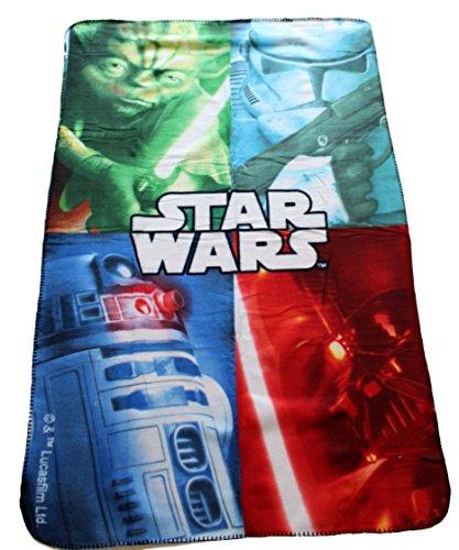 Star Wars manta polar 100x 150cm Darth Vader