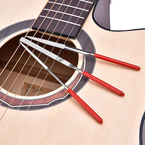Kit de reparación de guitarra profesional ligero, cortador de cuerdas de traste, portátil para reparación de instrumentos musicales de músicos