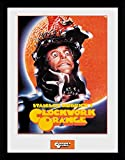 1art1 Clockwork Orange - Key Art Orange Gerahmtes Poster