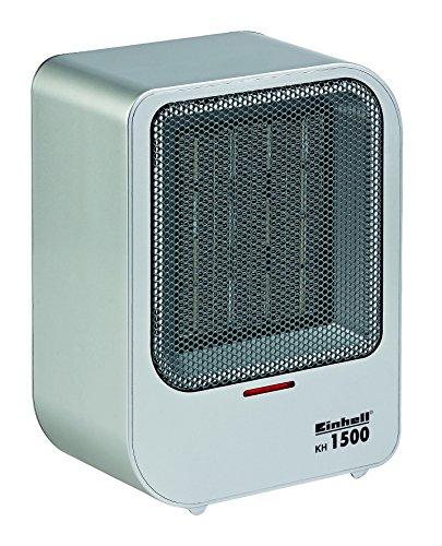 Einhell kachel KH 1500 (1.500 W max. verwarmingsvermogen, PTC-keramisch verwarmingselement, 2 warmtestanden, automatisch. uitschakeling bij omvallen).