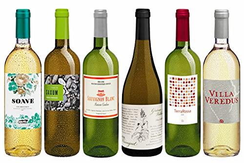 Weinpaket «Die beliebtesten Delinat-Weißweine»: Entdeckungen aus den natürlichsten Weingärten Europas. Biowein von DELINAT (6 x 0,75 l)