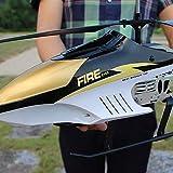 Kikioo 3.5CH énorme RC Avion Drone Outdoor parent-enfant Télécommande en alliage hélicoptère de charge électrique Suspension...