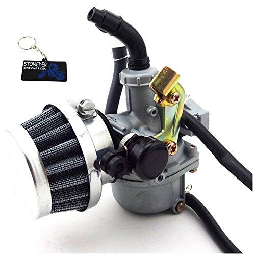 STONEDER 19 mm Carburateur PZ19 Carburateur filtre à air 50 cc 70 cc 90 cc 110 cc ATV Quad Pit Pro Dirt bike Moto