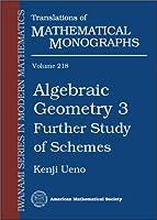 Algebraic Geometry 3: Further Study of Schemes (Translations of Mathematical Monographs)