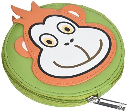 Zwilling Classic INOX 97642-001-0 Set de manucure 4 pièces pour enfant bébé pédicure soins mains pieds voyage imitation cuir singe