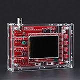 JISHIYU DSO138 DIY Osciloscopio Unassembled Kit SMD Soldado 13803K versión con Vivienda