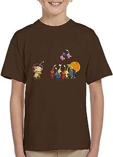 Cloud City 7 Little Big Army Pikmin Kid's T-Shirt