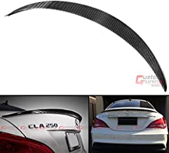 Cuztom Tuning Fits for 2013-2017 Mercedes Benz W117 CLA45 CLA250 CLA200 AMG Style Carbon Fiber Trunk Spoiler Wing